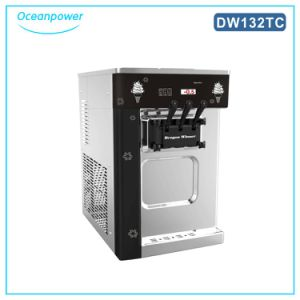 Table Model Ice Cream Machine with Pre-Cooling System (Oceanpower DW132TC) pictures & photos