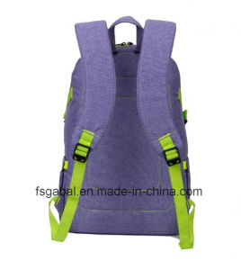 "Colleague Lady′s 15"" Polyester Laptop Backpack pictures & photos"