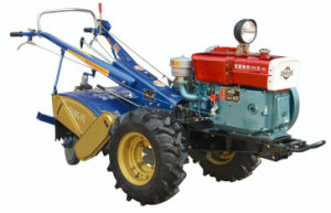 Diesel Power Tiller for Farming pictures & photos
