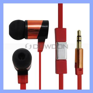 with Mic in Ear Metal Earphone Headphone for iPhone 6 5 5s MP3 MP4 Mobile Phone pictures & photos