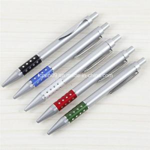 Metallic Barrel High Quality Clik Ball Pen Tc-7098