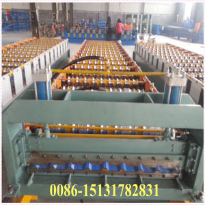 Dx Aluminium Roof Tile Making Machine for Steel Sheet Type pictures & photos