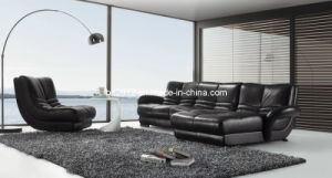 Living Room Genuine Leather Sofa (SBO-3924) pictures & photos