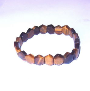 Semi Precious Stone Fashion Tiger Eye Natural Crystal Bracelet pictures & photos