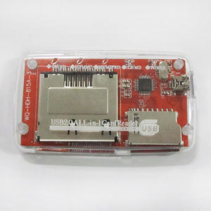USB2.0 Sm Xd SD MMC Ms Ms PRO CF Md All in 1 Card Reader pictures & photos