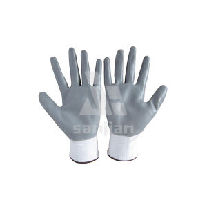 Nitrile Coated Glove pictures & photos