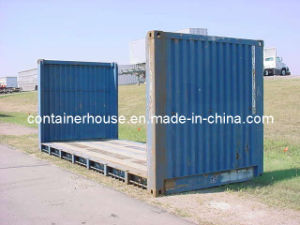 Second Hand 20 Ft Flat Rack Container pictures & photos