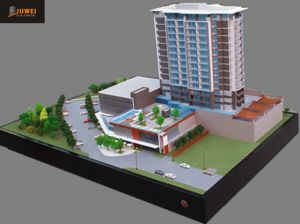 Architectural Model Making, 1: 100 Scale Model Building pictures & photos