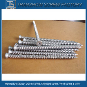 Medium Carbon Steel Hardend 7.5*132mm Concrete Screw Silver pictures & photos