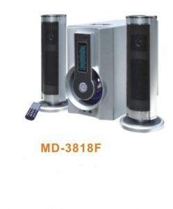 2.1CH Home Theater Speaker with USB/Mic/Rcu (MD-3818F)