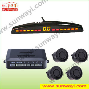 Ultrasonic Parking Sensors with LED Display and Beep or Voice Alarm