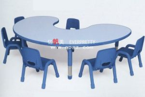 Kindergarten Furniture Kids Wooden Table and Chair Sets pictures & photos