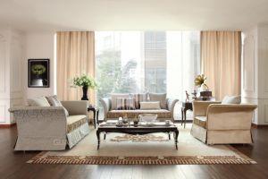 Hot Sale Velvet Fabric Classic Sofa #5965 pictures & photos