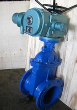 Electric Soft Seal Non Rising Stem Gate Valve (Z945X) pictures & photos