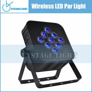 9X12W High Quality Top Level LED Wireless PAR Lighting