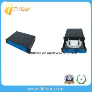 Sliding Type 24 Port Sc Duplex Fiber Optic Patch Panel pictures & photos
