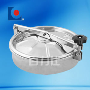 Stainless Steel Elliptic Manhole Cover (with pressure) pictures & photos