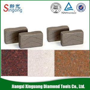 Hot Sale Garnite Stone Cutting Marble Diamond Segment pictures & photos