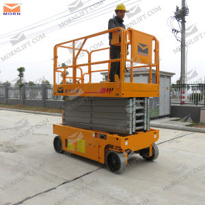 8m Used Electric Scissor Lift Hot Sale pictures & photos