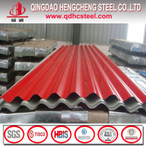 Color Coated Corrugated Steel Roofing Sheet pictures & photos