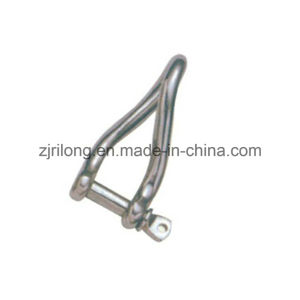Steel Galvanized or Stainless Steel 304 or 316 Safety Marine Twist Shackle Model Dr-Z0056 pictures & photos