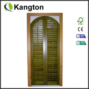 2014 New Model Exterior Louvered Door (shutter door) pictures & photos