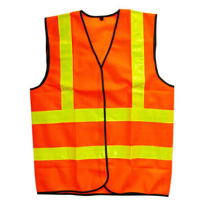 100% Polyester Reflective Vest Hs724 pictures & photos