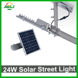Good Quality Outdoor 24W Solar LED Street Light pictures & photos