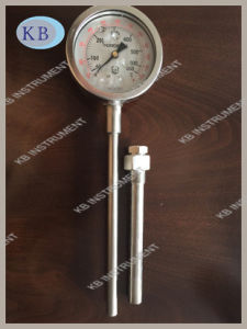 All Stainless Steel Exhaust Gas Thermometers Direct Mounting with Thermowell pictures & photos