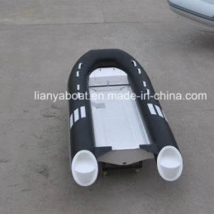 Liya 2.4-4.2m FRP Inflatable Boat Cheap PVC Inflatable Rubber Boat for Sale pictures & photos