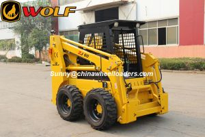China Bobcat Attachments Loading Capacity 850kg Engine Power 60HP Skid Steer Loader (ZJ60) pictures & photos