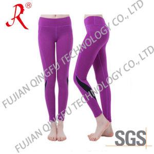 Top Quality Long Women′s Sport Leggings (QF-S411) pictures & photos