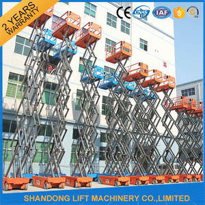 China Manufacturer Outdoor Self Propelled Lift pictures & photos