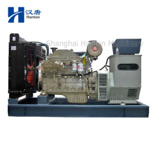 Cummins diesel generator set with 6BTA5.9-G engine alternator Marathon Stamford pictures & photos