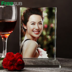 Beautiful Square Sublimation Crystal for Heating Press Photo pictures & photos