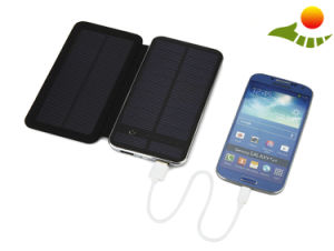 10000mAh Solar Power Bank with Foldable Solar Panels Backup Battery Cell Phone Charger for Sale pictures & photos