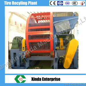 Zps-900 Whole Scrap Tire/Tyre Shredder New Condition Waste Tyre Recycling Machine pictures & photos
