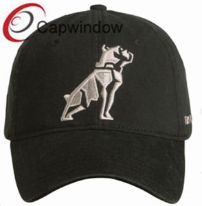 Black Simple3d Embroidery Fashion Leisure Sport Baseball Cap pictures & photos