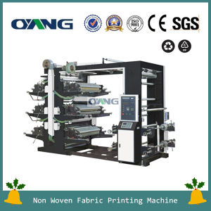 Six Color Flexographic Printing Machine (YT-6600) pictures & photos