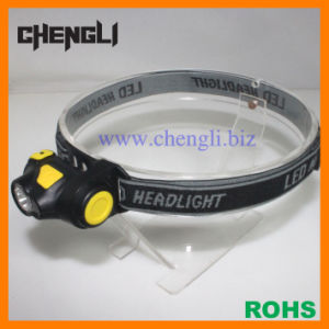 1 CREE LED+1 Red LED Mini Head Lamp (LA1230)