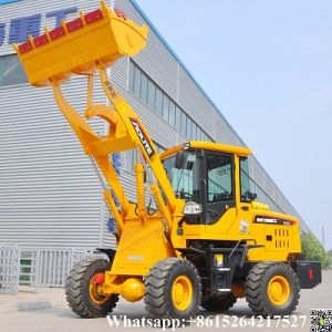 1200kg Compact Pay Wheel Loader Popular in Lybia pictures & photos