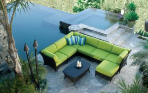 Garden Synthetic Rattan Furniture Set Outdoor Wicker Furniture pictures & photos
