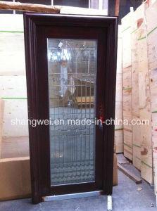 Single Galsss Stainelss Steel Door pictures & photos
