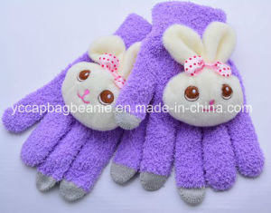 Touch Gloves/Acrlic Gloves/Knitted Gloves/Winter Gloves/Fashional Knitted Gloves pictures & photos