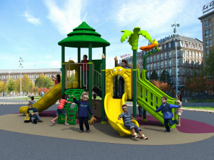 2017 Children Kids Outdoor/Indoor Playground with TUV-GS\Ce\En 1176\SGS\Ohsas18001\ISO9001\ISO14001 Certificate Woods Series (HD15A-030D) pictures & photos