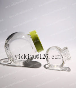 550ml Glass Food Jar Coffee Glass Jar with Metal Cap pictures & photos