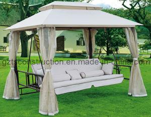 Outdoor/Patio Luxury 3-Seat Garden Swing pictures & photos