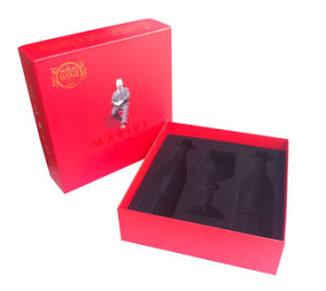 2016 High Quality Hot Selling Paper Double Wine Box with Paper Bag (YY-B0215) pictures & photos