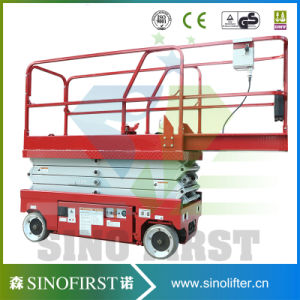 Self Propelled Lift Platform Portable Electric Lifter Electric Scissor Lifts pictures & photos