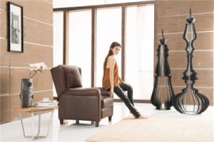 Brown Color Push Back Arm Chair pictures & photos